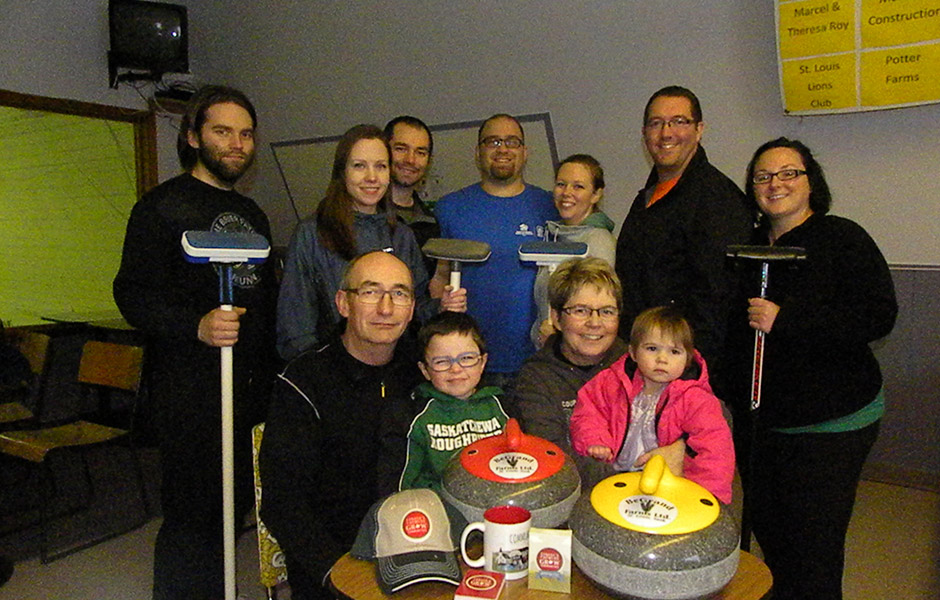 2014 winner Gordon Finnestad from St. Louis, SK donated $2,500 to the St. Louis Curling Club.
