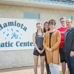 2018 winner Dale Little from Hamiota, SK donated $2,500 to the Hamiota Aquatic Centre